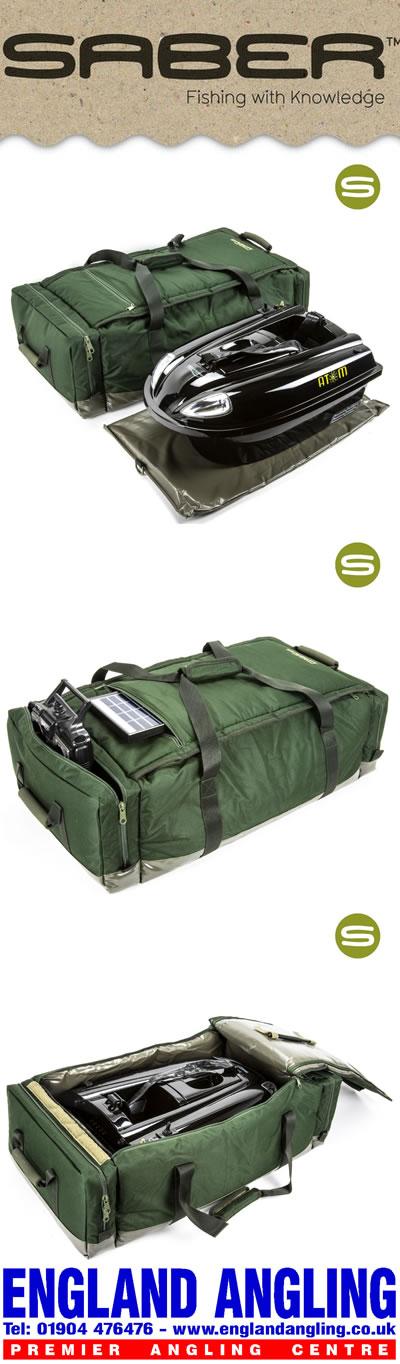 Saber Med Deluxe Bait Boat Bag Sl10   U00a364 99 Free Delivery